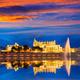 Palma de Mallorca Cathedral Seu sunset Majorca - PhotoDune Item for Sale