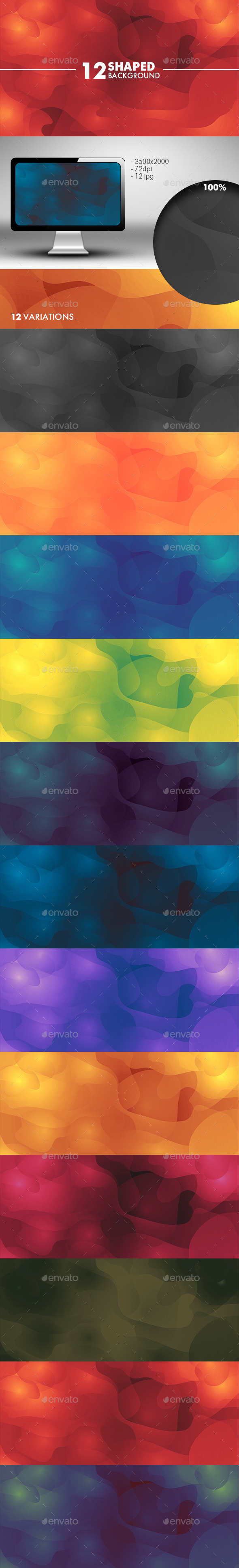 GraphicRiver Spotted Background 10856599