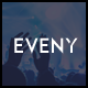Eveny - Events, Music & Gallery WordPress Theme - ThemeForest Item for Sale