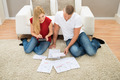 Couple Calculating Bills - PhotoDune Item for Sale