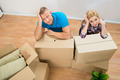 Young Couple With Cardboard Boxes - PhotoDune Item for Sale