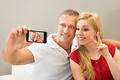 Young Couple Taking A Selfie - PhotoDune Item for Sale