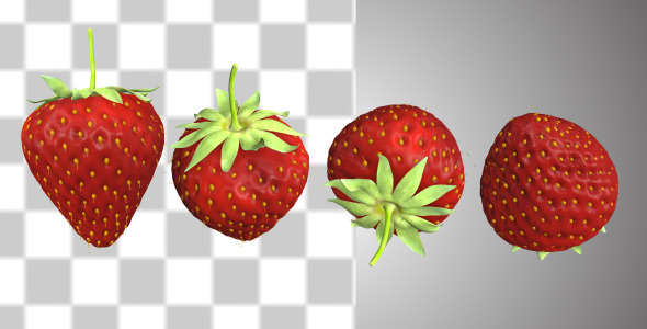 VideoHive Strawberry 10858971