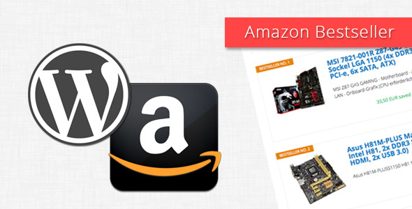 CodeCanyon Amazon Bestseller for WordPress 10859045