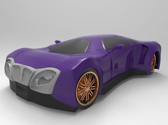 3DOcean Sport Car Concept2 10859107
