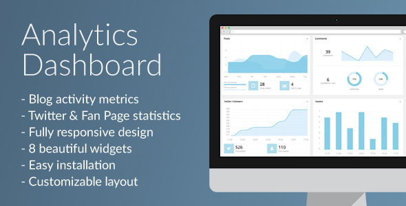 CodeCanyon Analytics Dashboard 10819439