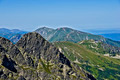 View of the peak ?winice, and Kasprowy in the Polish Tatras - PhotoDune Item for Sale