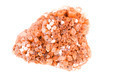 Cluster of twinned aragonite on a white background - PhotoDune Item for Sale