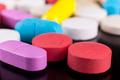 Colorful Pills Macro - PhotoDune Item for Sale