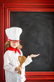 Child chef cook. Restaurant business concept - PhotoDune Item for Sale