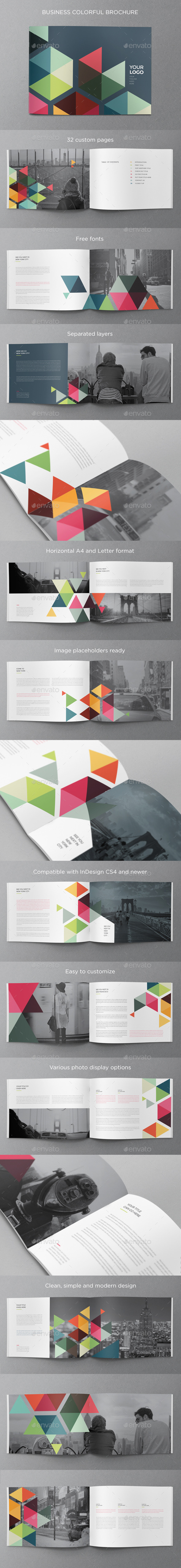 GraphicRiver Business Colorful Brochure 10859836