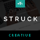 Struck - A Responsive Creative WordPress Theme