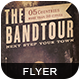Band Tour Flyer/Poster - GraphicRiver Item for Sale