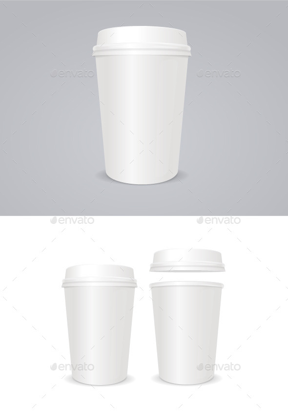 GraphicRiver Empty Coffee Paper Cup 10859960
