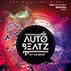 Auto Beatz Party Template - GraphicRiver Item for Sale
