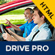 Drive Pro : Driving School HTML Template - Miscellaneous Site Templates