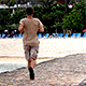 Man Running on the Beach 2 - VideoHive Item for Sale