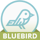 Bluebird blog - responsive Ghost theme
