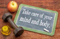 Take care of your mind and body - PhotoDune Item for Sale