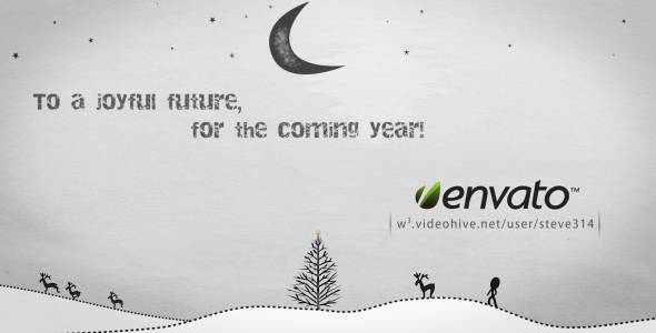 VideoHive Inkman presents Xmas & New year's Greetings AE 135117