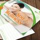 Modern Wellness Center Post Card - GraphicRiver Item for Sale