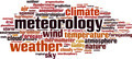 Meteorology Word Cloud Concept - PhotoDune Item for Sale