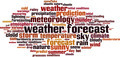Weather Forecast Word Cloud Concept - PhotoDune Item for Sale