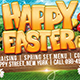 Happy Easter Facebook Cover Template - GraphicRiver Item for Sale
