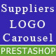 Responsive Suppliers logo carousel