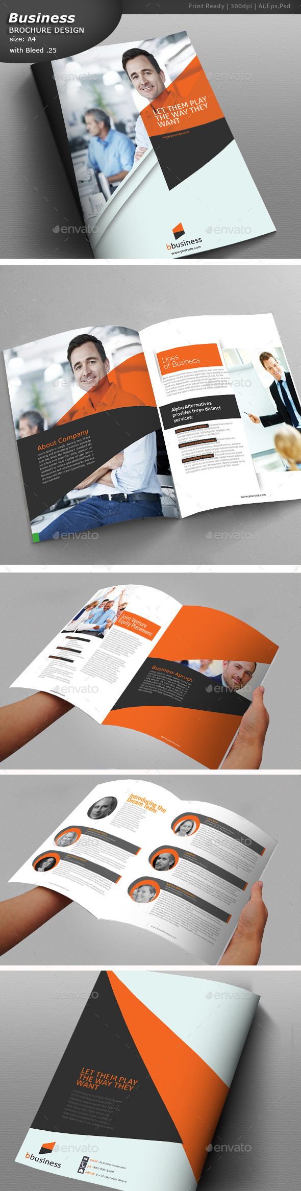 GraphicRiver Business Brochure Template 10797036