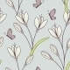 Flowers and Butterfly Pattern - GraphicRiver Item for Sale