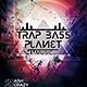 Trap Bass Planet Party Template - GraphicRiver Item for Sale