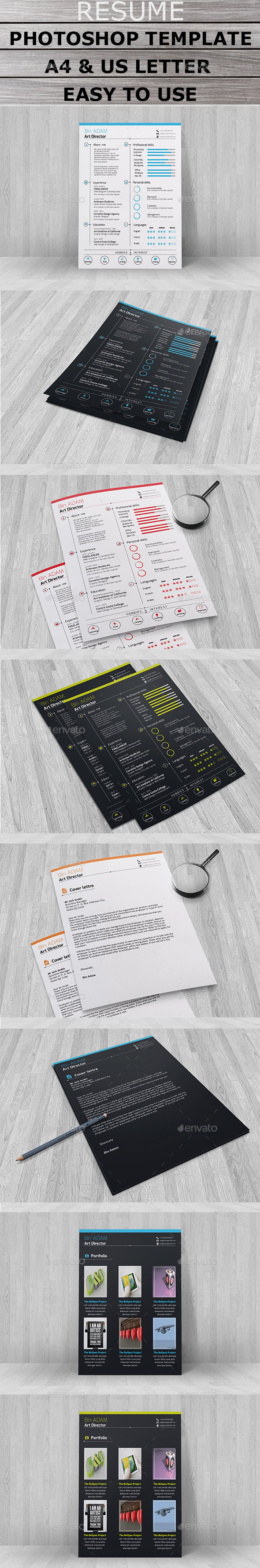 GraphicRiver Resume 10694348