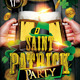 St Patricks Day Party Flyer - GraphicRiver Item for Sale