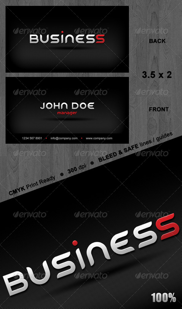 GraphicRiver Modern Business Card 135125