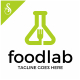 Food Lab Logo - GraphicRiver Item for Sale