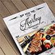 Vintage Restaurant Menu Flyer - GraphicRiver Item for Sale