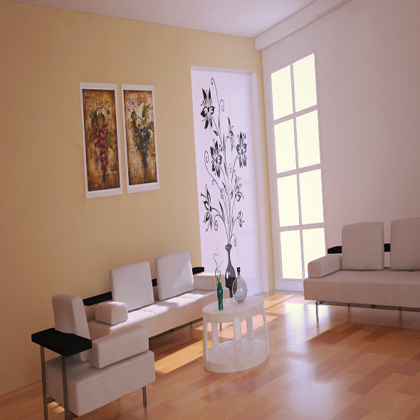 Interior vray(camera+light setup)+Psd  - 3DOcean Item for Sale