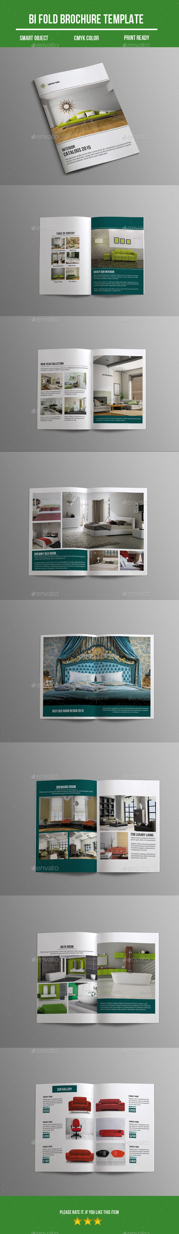 GraphicRiver Interior Bi- Fold Brochure 10863237