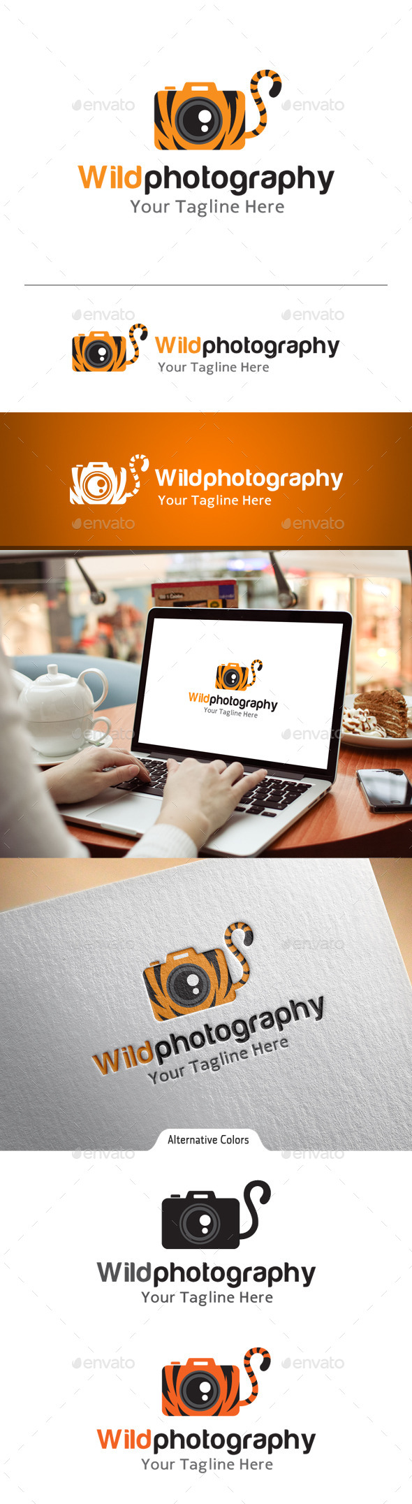 GraphicRiver Wild Photography Logo 10863249