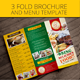 Rustic Trifold Restaurant Brochure and Menu - GraphicRiver Item for Sale