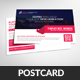 Flat Corporate Business Post Cards Template - GraphicRiver Item for Sale