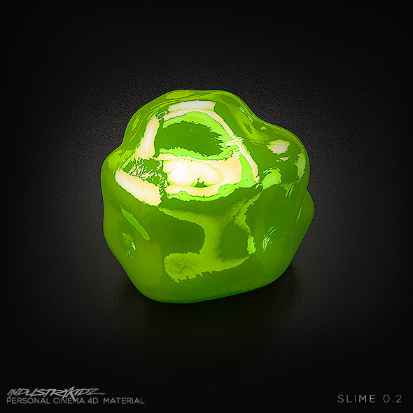 Green Slime - 3DOcean Item for Sale