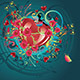 Hearts and Roses - GraphicRiver Item for Sale