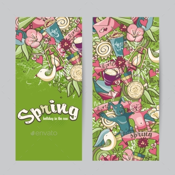 GraphicRiver Spring Banners 10864577