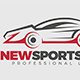 New Sports Car Logo Template - GraphicRiver Item for Sale