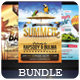 Summer - Flyers Bundle [Vol.2] - GraphicRiver Item for Sale