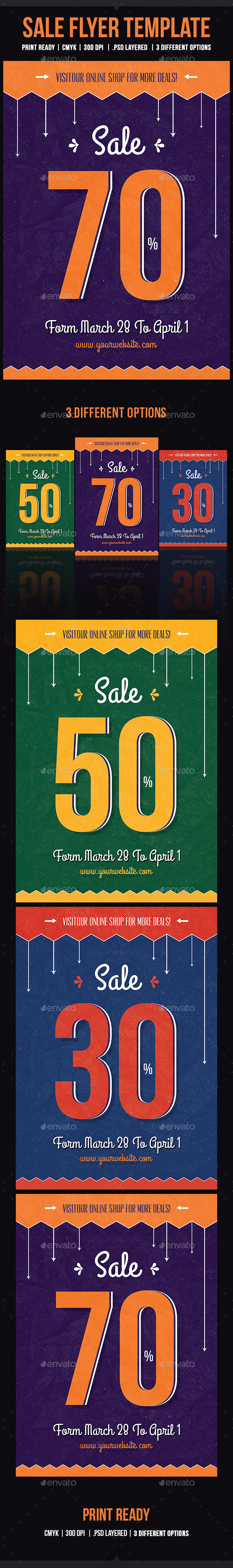 GraphicRiver Sale Flyer Template 10865517