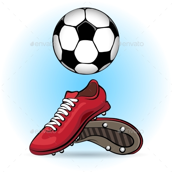 GraphicRiver Boots and Ball 10865562