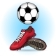 Boots and Ball  - GraphicRiver Item for Sale